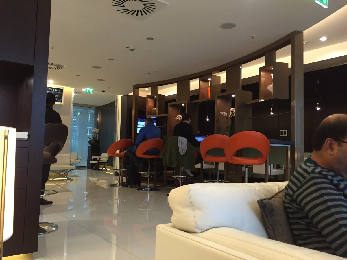 Etihad Airways lounge Frankfurt