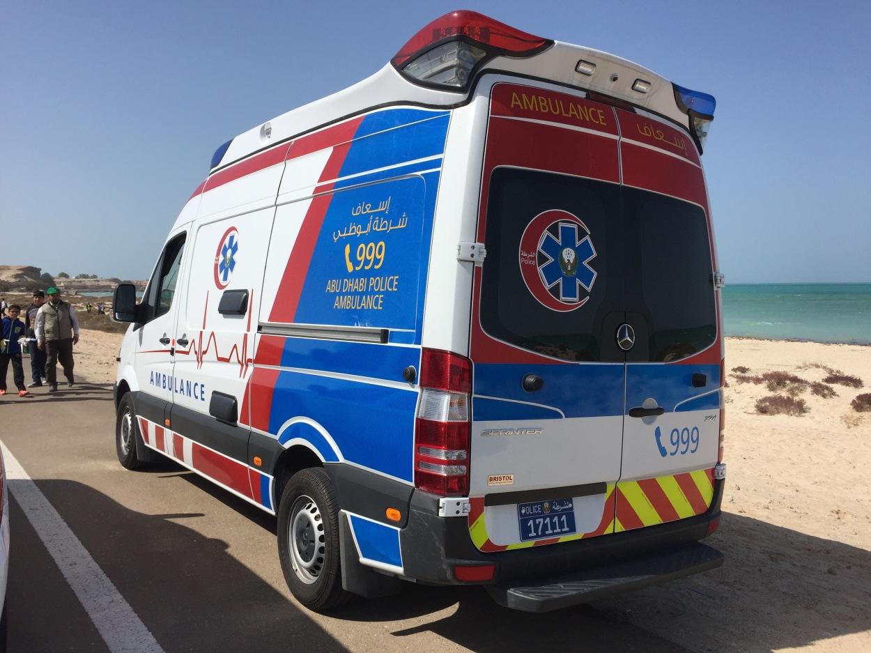 Rettungswagen Abu Dhabi