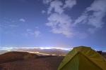 Jebel Hafeet Al Ain bei Nacht