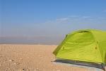 Zelten auf dem Jebel Hafeet Al Ain