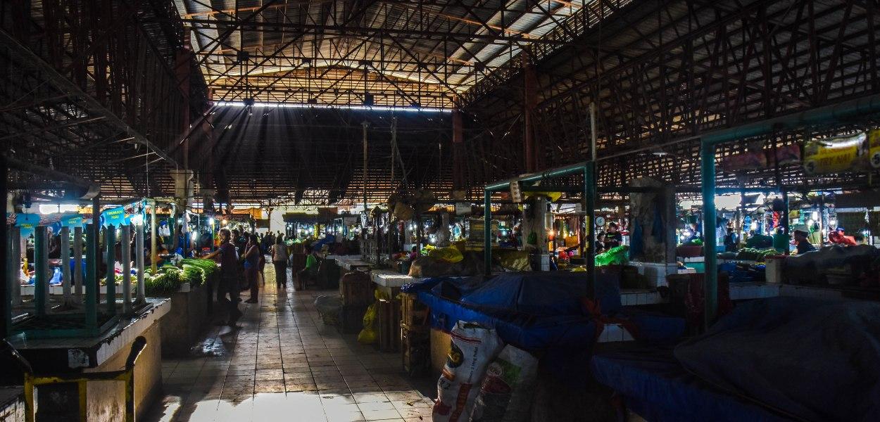 Markt auf Bohol