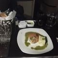 Essen in der Business Class
