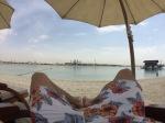 Strand auf der Palme Dubai