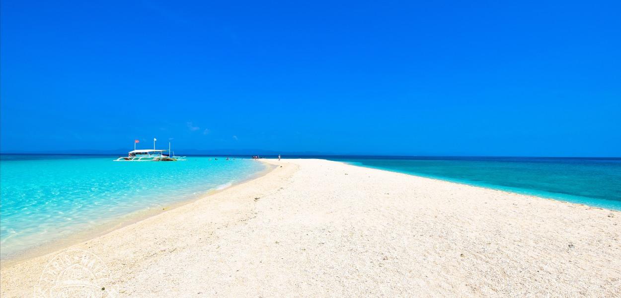 Strand von Kalaggaman Island