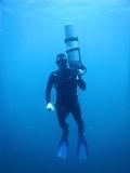Sidemount diver Chris Mayer