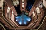 Treppenhaus im Emirates Palace