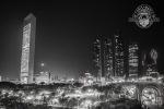 Etihad Towers Abu Dhabi bei Nacht