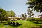 Garten des Emirates Palace