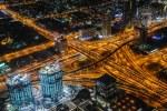 Autobahnkreuz in Dubai